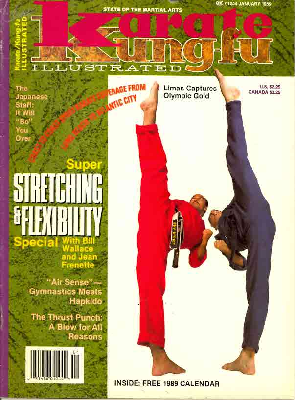 01/89 Karate Kung Fu Illustrated